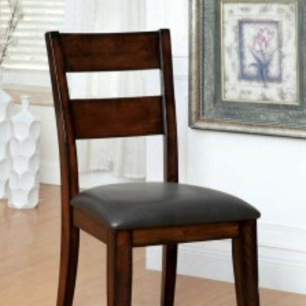 McFetridge Upholstered Dining Chair (Set of 2) by Millwood Pines Millwood Pines