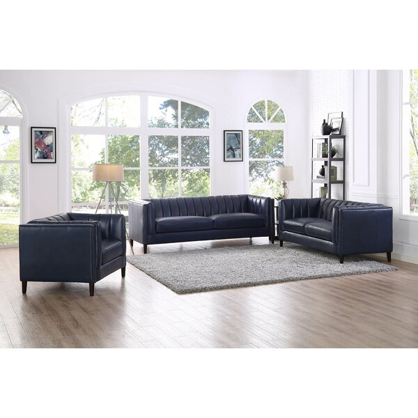 Dierking 3 Piece Standard Living Room Set by 17 Stories