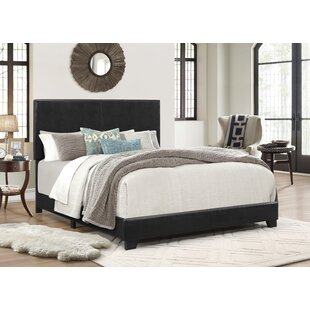 Order Erin Upholstered Panel Bed by Crown Mark
