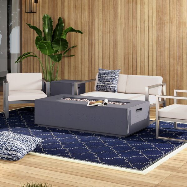 Mirando Outdoor 5 Piece Sofa Seating Group with Cushions by Mercury Row
