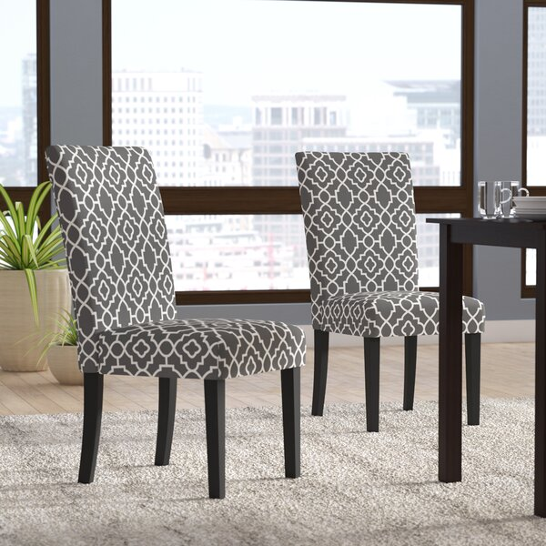 Kinkead Upholstered Dining Chair (Set of 2) by Alcott Hill