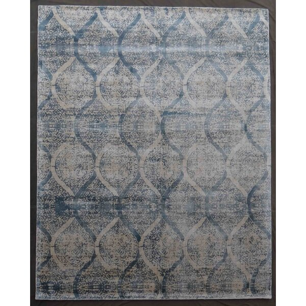 Carmen Hand-Woven Blue Area Rug by Exquisite Rugs