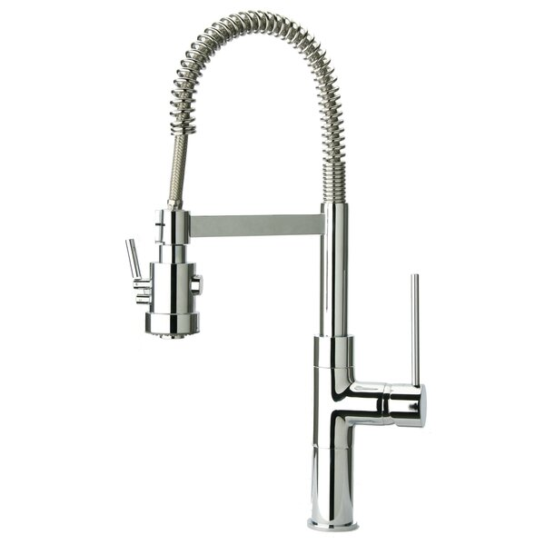 Elba Pull Out Touch Single Handle Kitchen Faucet by LaToscana