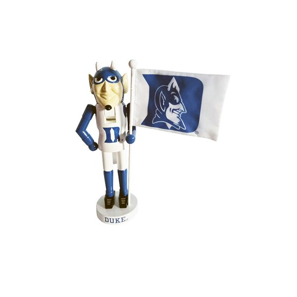 NCAA Duke Mascot Nutcracker Figurine by Santa's Workshop