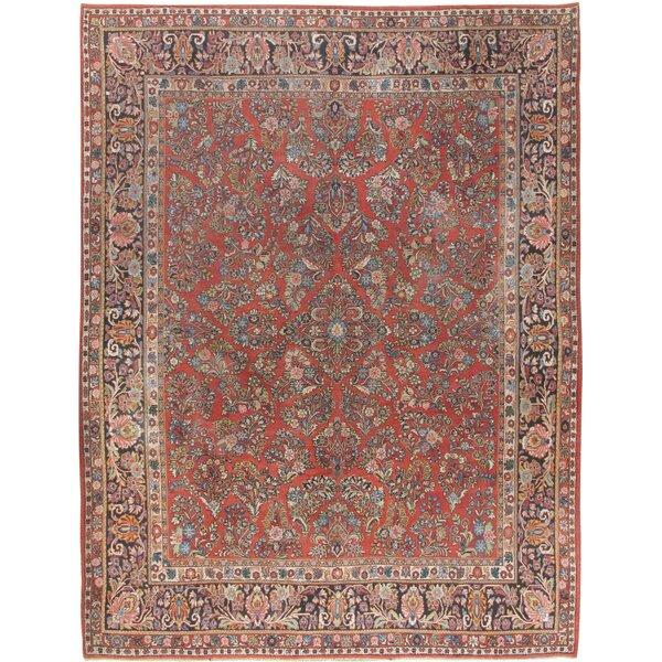 Vintage Sarouk Carpet Circa 1950, 9'2 x 11'9