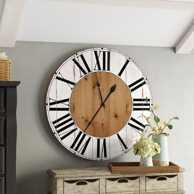 Gracie Oaksoversized Bryan Wall Clock Gracie Oaks Size Extra Large Dailymail