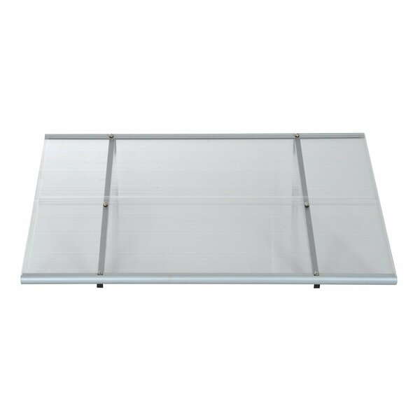 Patio 3 ft. W x 4 ft. D Window and Door Awning by HomCom