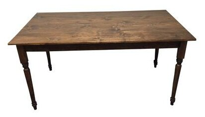 Coventry Rectangular Solid Wood Dining Table by August Grove