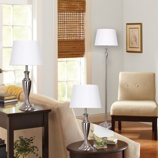 Find 3 Piece Table and Floor Lamp Set By Catalina Lighting