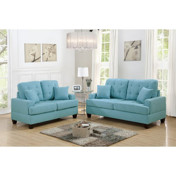 Araromi 2 Piece Living Room Set by Ebern Designs