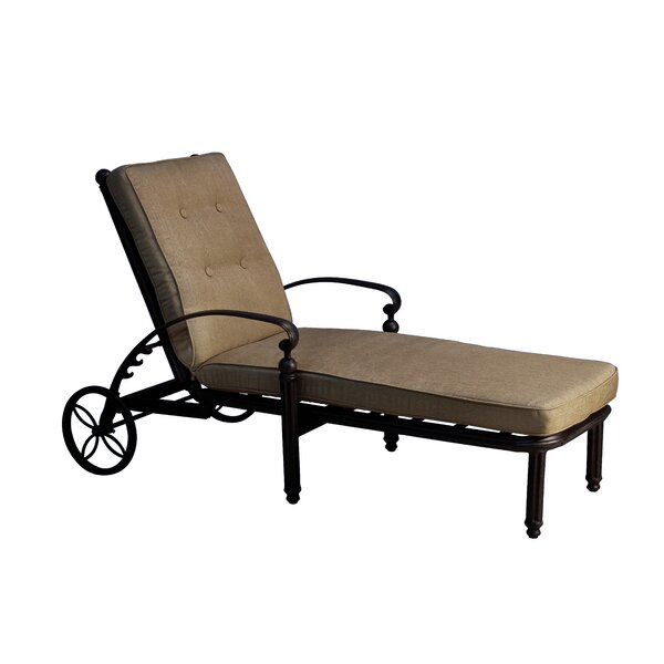 Schleicher Reclining Chaise Lounge with Cushion