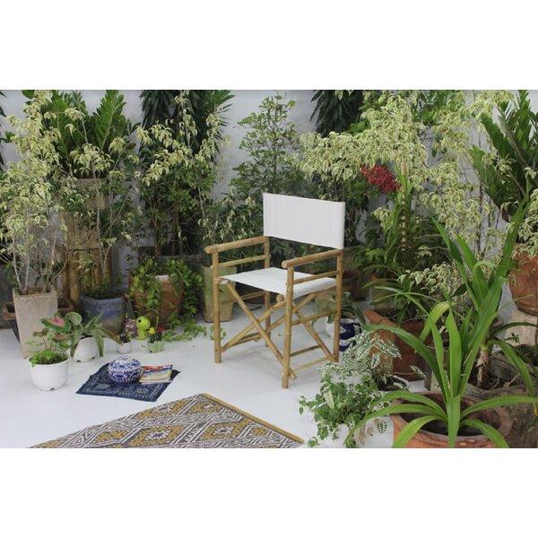 Yohana Bamboo Director Chair (Set of 2) by Bayou Breeze Bayou Breeze