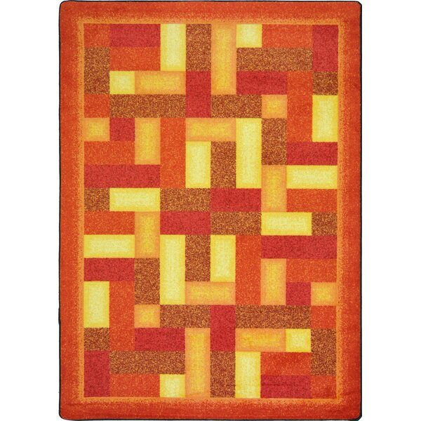 Hand-Tufled Brown Area Rug by The Conestoga Trading Co.