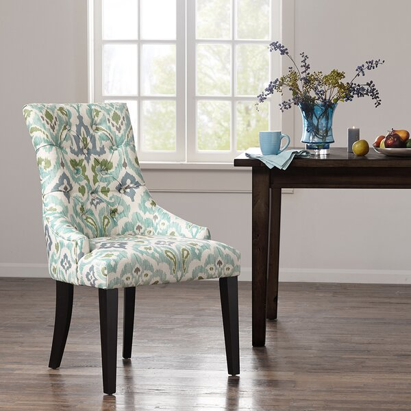Celeste Upholstered Dining Chair (Set of 2) by Bungalow Rose