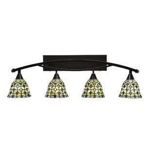 Best Reviews Austinburg 4-Light Crescent Vanity Light By Astoria Grand