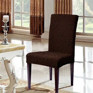 Box Cushion Dining Chair Slipcover (Set of 2)