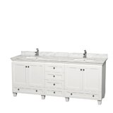 Acclaim 80 Double Bathroom Vanity Set by Wyndham Collection