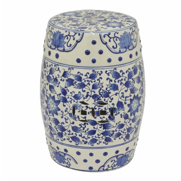 RaNesha Attractive Ceramic Garden Stool by Bloomsbury Market