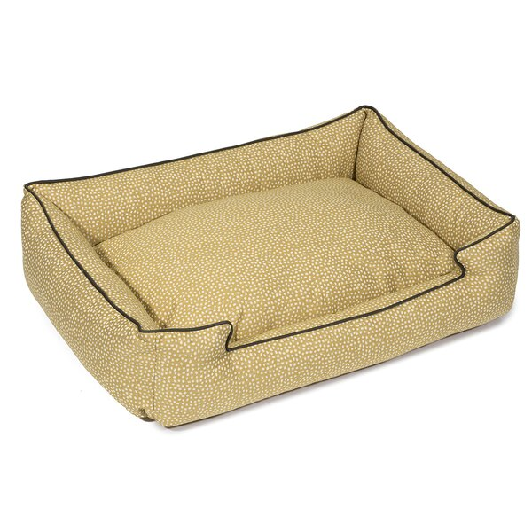 Flicker Premium Cotton Lounge Dog Bed by Jax & Bon
