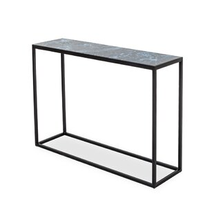 Feinstein Glass Console Table By Ivy Bronx