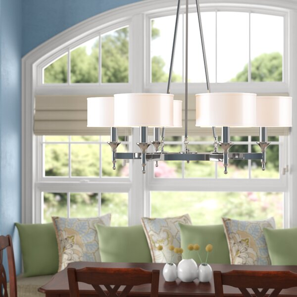 Watson 6-Light Shaded Chandelier by Darby Home Co