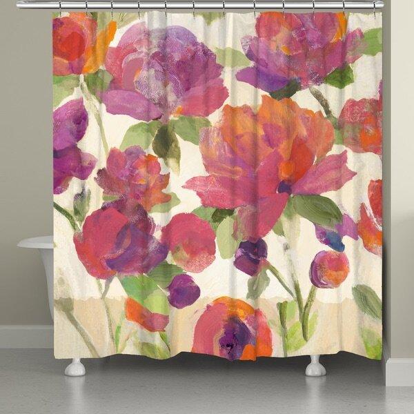 Glendale Garden Delight Shower Curtain by August Grove
