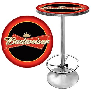 Budweiser Pub Table I by Trademark Global Best Reviews