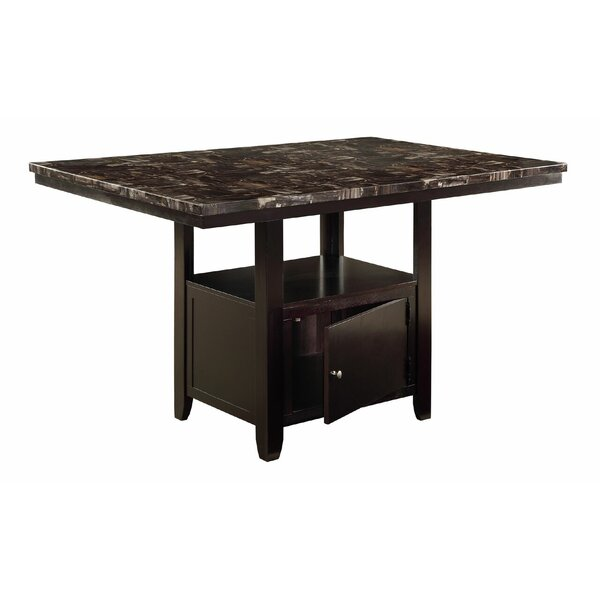 Upper Strode Counter Height Dining Table by Winston Porter