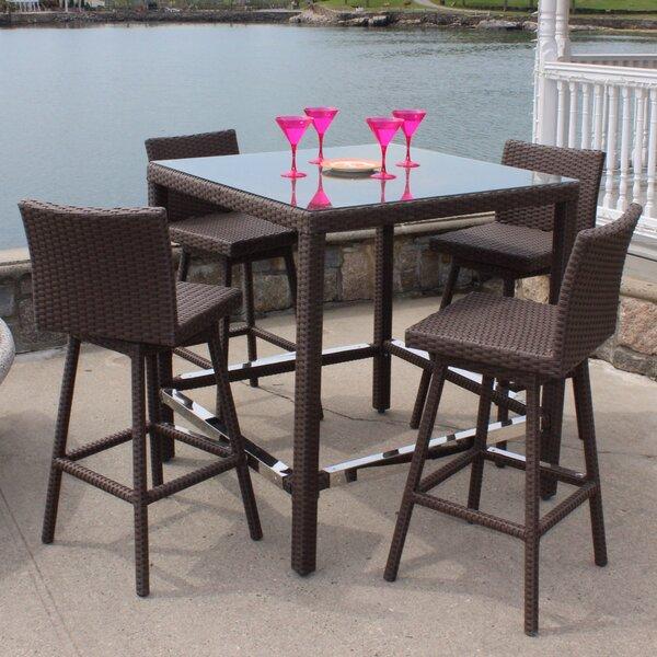 Sonoma 5 Piece Bar Height Dining Set by ElanaMar Designs