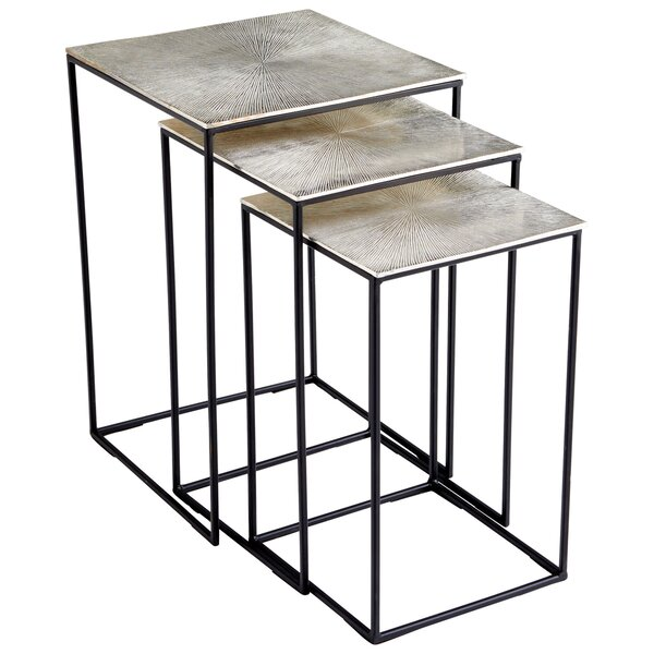Irvine 3 Piece Nesting Tables By Cyan Design