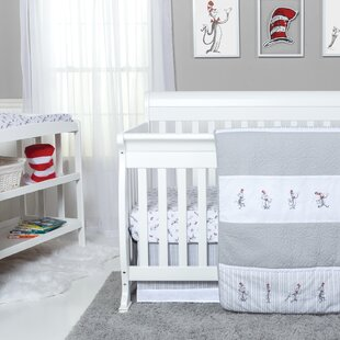 Inexpensive The Cat in the Hat Comes Back 4 Piece Bedding Set ByTrend Lab