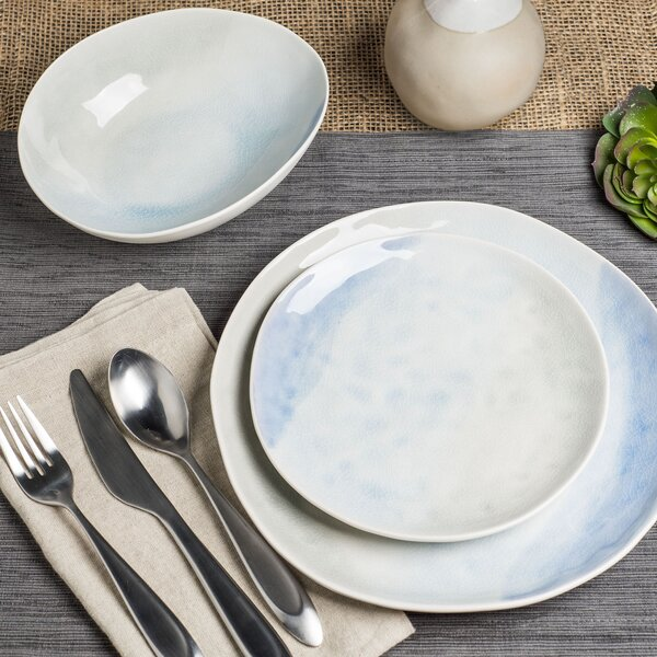 Duffy 12 Piece Dinnerware Set, Service for 4 by Rosecliff Heights