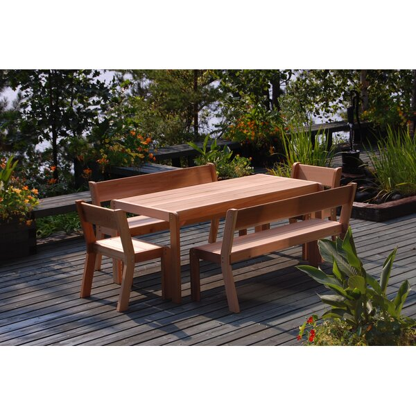Zaina Wooden Garden Bench by Millwood Pines