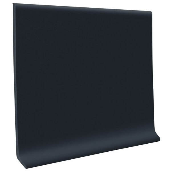 0.13 x 1440 x 4.5 Cove Molding in Black by ROPPE