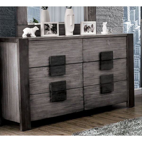 Serafin 6 Drawer Double Dresser by Brayden Studio