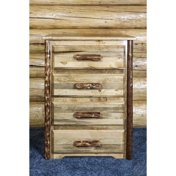 Tustin 4 Drawer Chest by Loon Peak