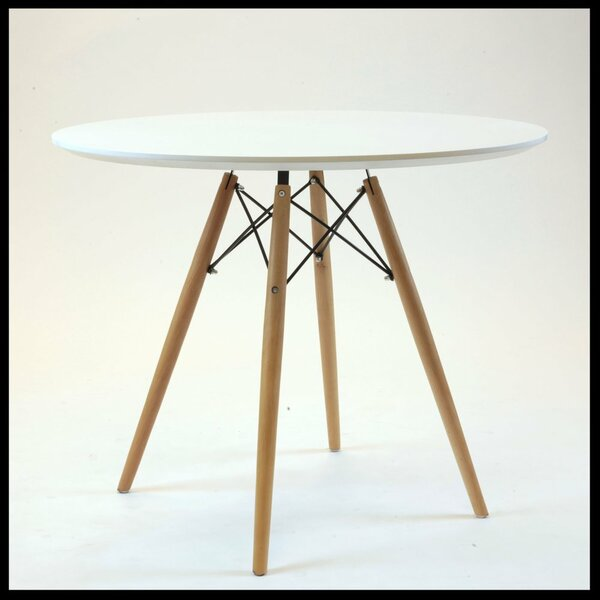 Brilliant Circular Dining Table by Wrought Studio