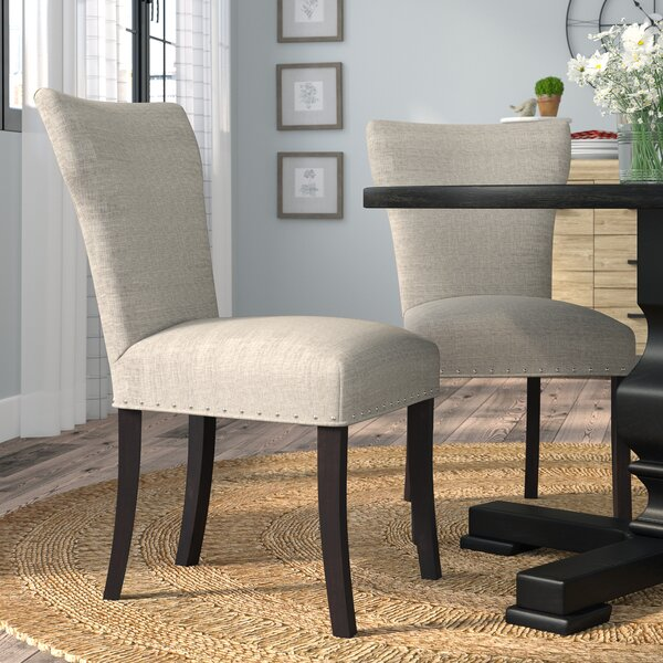 Lorie Upholstered Contemporary Parsons Chair (Set Of 2) By Laurel Foundry Modern Farmhouse