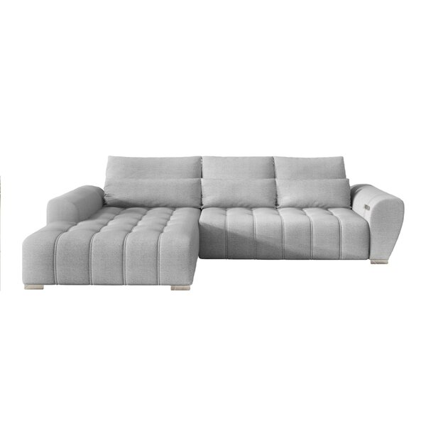 Great Sale Bequia Sleeper Sectional by Orren Ellis by Orren Ellis