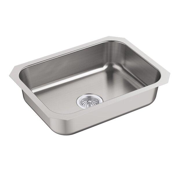 McAllister 24 L x 18 W Undermount Single Bowl Kitchen Sink by Kohler