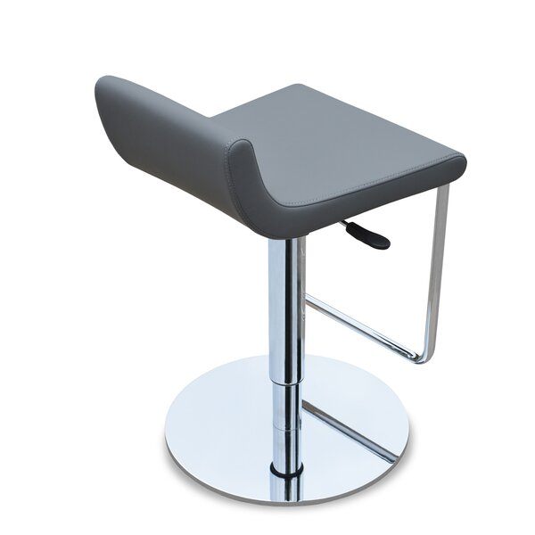 Adjustable Height Swivel Bar Stool by sohoConcept