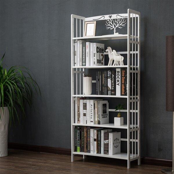 Wood Geometric Bookcase by Winston Porter Winston Porter