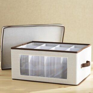Wayfair Basics Storage Chest Stemware