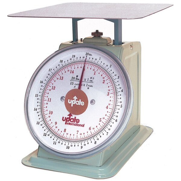 8 Dial Analog Portion Control Scale by Update International