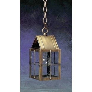 Affordable Price 300 Series 1-Light Outdoor Hanging Lantern By Brass Traditions
