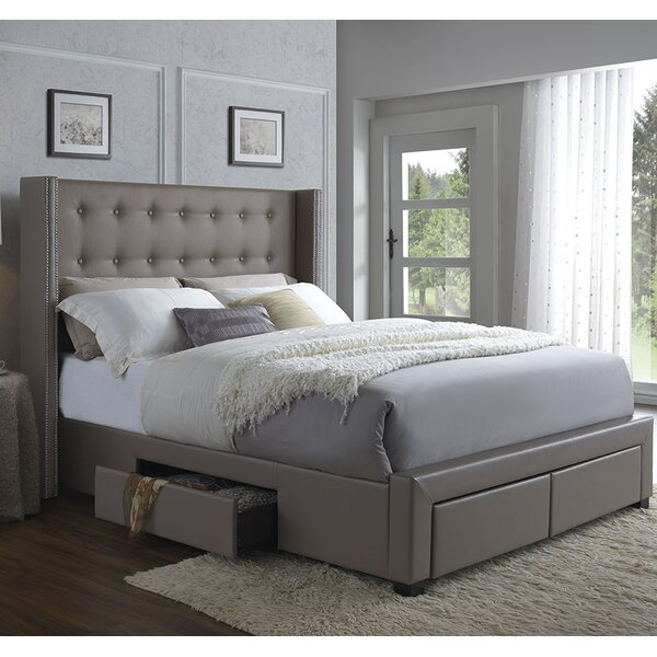Best Choices Kerens Upholstered Storage Standard Bed By Greyleigh Cool