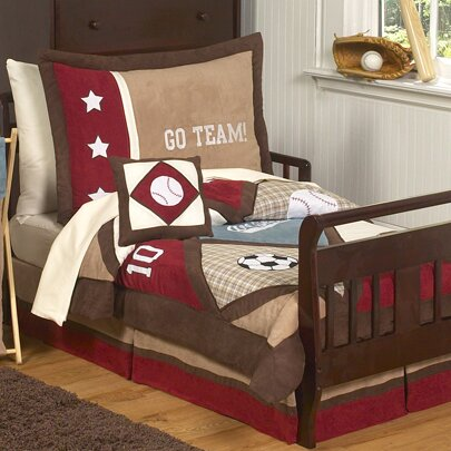 All Star Sports 5 Piece Toddler Bedding Set by Sweet Jojo Designs