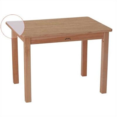 MapleWave 30 x 22 Rectangular Activity Table by Jonti-Craft
