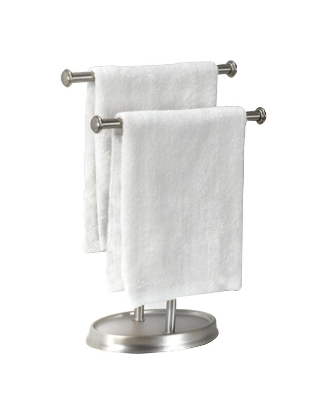 Free Standing Palm Double Hand Towel Rack Amp Reviews