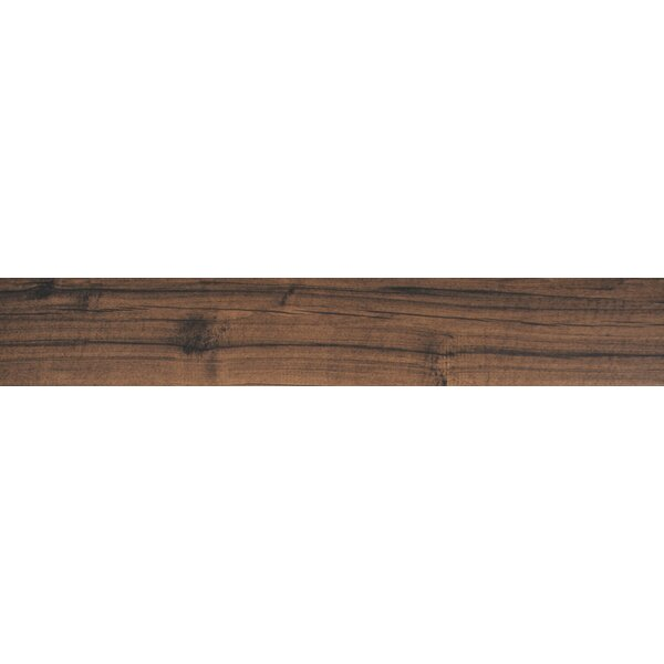 Palmetto 6 x 36 Porcelain Wood Tile in Walnut by MSI